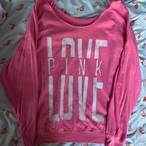 Pink Logo Top